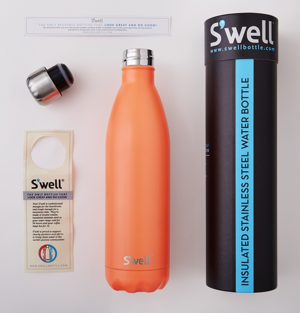 Buy S Well Wood Collection Stainless Steel Water Bottle