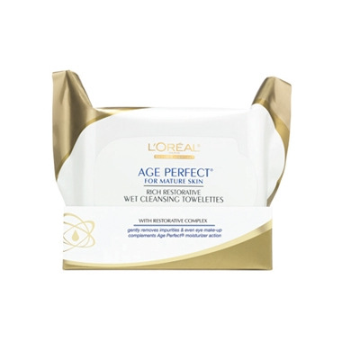 L\'Oreal Age Perfect Rich Cleansing Towelettes