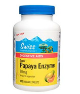 Swiss Natural Sources Papaya Enzyme Super