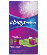 Always Radiant Wipes-To-Go