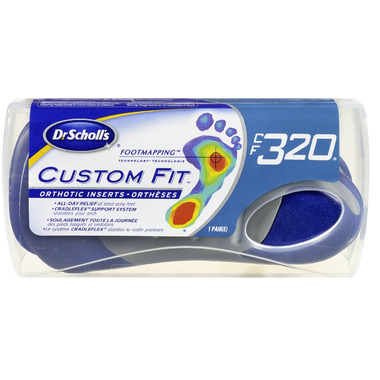 Dr. Scholl\'s Custom Fit Orthotic Inserts CF 320