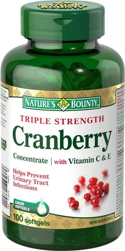 Natures bounty cranberry
