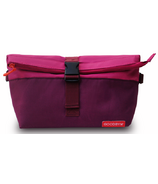 Goodbyn Rolltop Insulated Lunch Bag Magenta