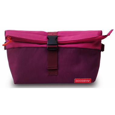 Goodbyn Rolltop Insulated Lunch Bag Magenta