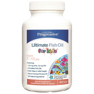 Buy progressive ultimate fish oil for kids at for Fish oil for add