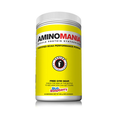 Fusion Bodybuilding AminoMania Blue Raspberry