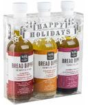Wildly Delicious Bread Dipper Holiday Trio