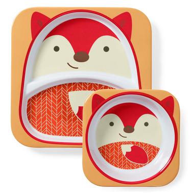 Skip Hop Zoo Melamine Set Fox