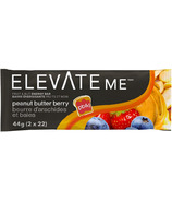 Elevate Me Peanut Butter & Berry Bars