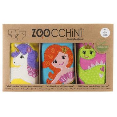 Zoocchini Girls Organic Training Pants Fairy Tales