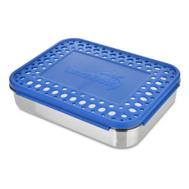 LunchBots Cinco Bento Blue Dots