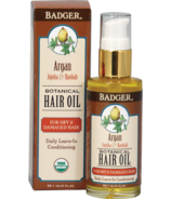 Badger Botanical Hair Oil for Dry & Damaged Hair