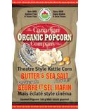 Canadian Organic Popcorn Butter & Sea Salt