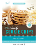 HannahMax Crunchy Cookie Chips Chocolate Chip