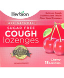 Herbion Cough Lozenges in Sugar Free Cherry