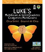 Luke's Organic Chia Seed Crackers