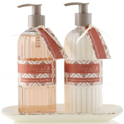Eva ella hand wash lotion caddy set Hand wash and lotion caddy