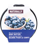 Naturally Upper Canada Wild Blueberry Vanilla Body Body