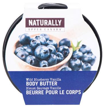 Naturally Upper Canada Wild Blueberry Vanilla Body Body