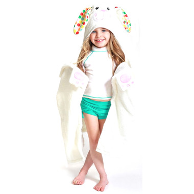 Zoocchini Toddler Hooded Towel Bella The Bunny