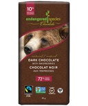Endangered Species Natural Dark Chocolate with Raspberry