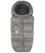 7 A.M Enfant Blanket 212 Evolution Hearther Grey Stars
