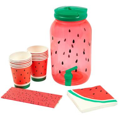 Sunnylife Drink Dispenser Party Kit Watermelon