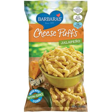 Barbara\'s Jalapeno Cheez Puffs