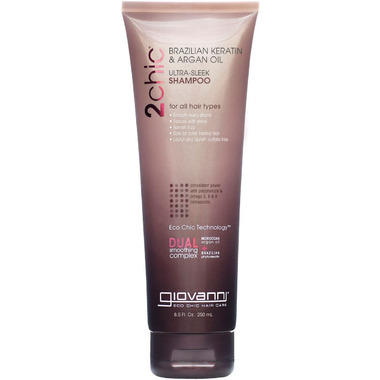 Giovanni 2chic Brazilian Keratin & Argan Oil Ultra-Sleek Shampoo
