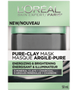 L'Oreal Energizing & Brightening Pure Clay Mask