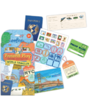 eeboo World Traveler Pretend Play Kit