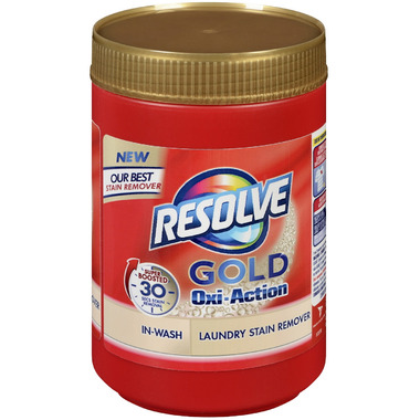 Buy Resolve Gold Oxi Action In Wash Powder Stain Remover