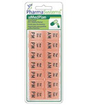PharmaSystems Twice Daily Pill & Vitamin Planner