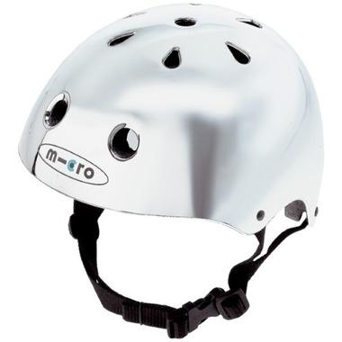 Micro of Switzerland Chrome Helmet