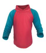 Bummis Long Sleeve UV Shirt Pink & Seaspray