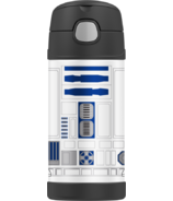 Thermos Stainless Steel Vacuum Insulated Straw Bottle Star Wars