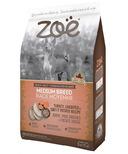 Zoe Medium Breed Dog Food Turkey, Chickpea and Sweet Potato