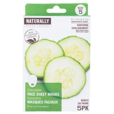 Naturally Upper Canada Cucumber Face Mask