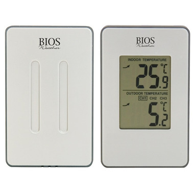 Bios Indoor/Outdoor Wireless Thermometer