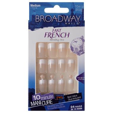 Broadway Nails Fast French Nail Kit