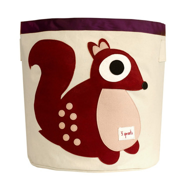 3 Sprouts Storage Bin Squirrel