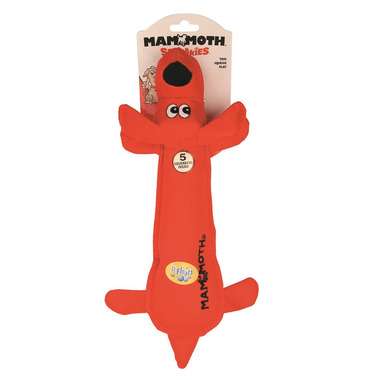 Mammoth Squeakies Dog Nylon Medium 14 Inch Dog Toy