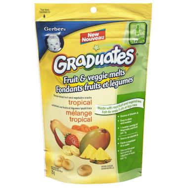 Gerber Graduates Fruit & Veggies Melts Tropical