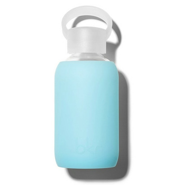 buy bkr skye glass water bottle sheer aqua sky blue at free shipping 35 in canada. Black Bedroom Furniture Sets. Home Design Ideas