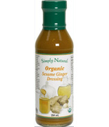 Simply Natural Organic Sesame Ginger Dressing