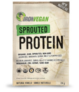 IronVegan Sprouted Protein Vanilla Singles