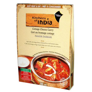 Kitchens Of India Cottage Cheese Curry