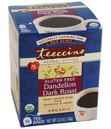 Teeccino Dandelion Dark Roast Herbal Coffee