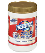 Resolve Gold Oxi-Action In-Wash Powder Stain Remover White Fabrics