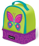 Crocodile Creek Double Decker Lunch Box Butterfly
